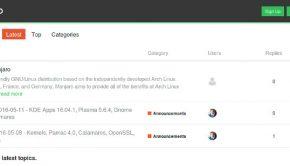 Trwają prace nad wiki i forum Manjaro Linux